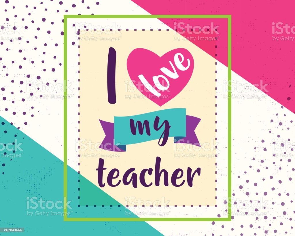 Vector illustration of happy teachers day greeting design for print vector illustration of happy teachers day greeting design for print card royalty free kristyandbryce Choice Image