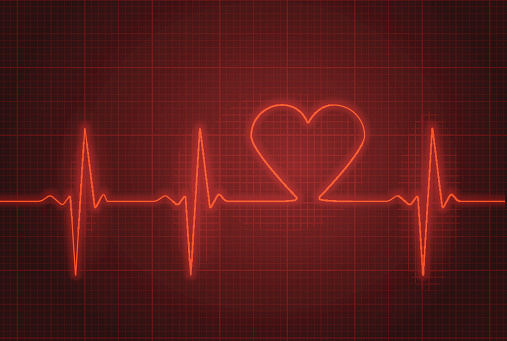Heart rate stock illustrations