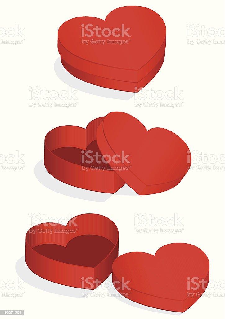 Illustrazione vettoriale di a forma di cuore di San Valentino illustrazione vettoriale di a forma di cuore di san valentino - immagini vettoriali stock e altre immagini di amore royalty-free