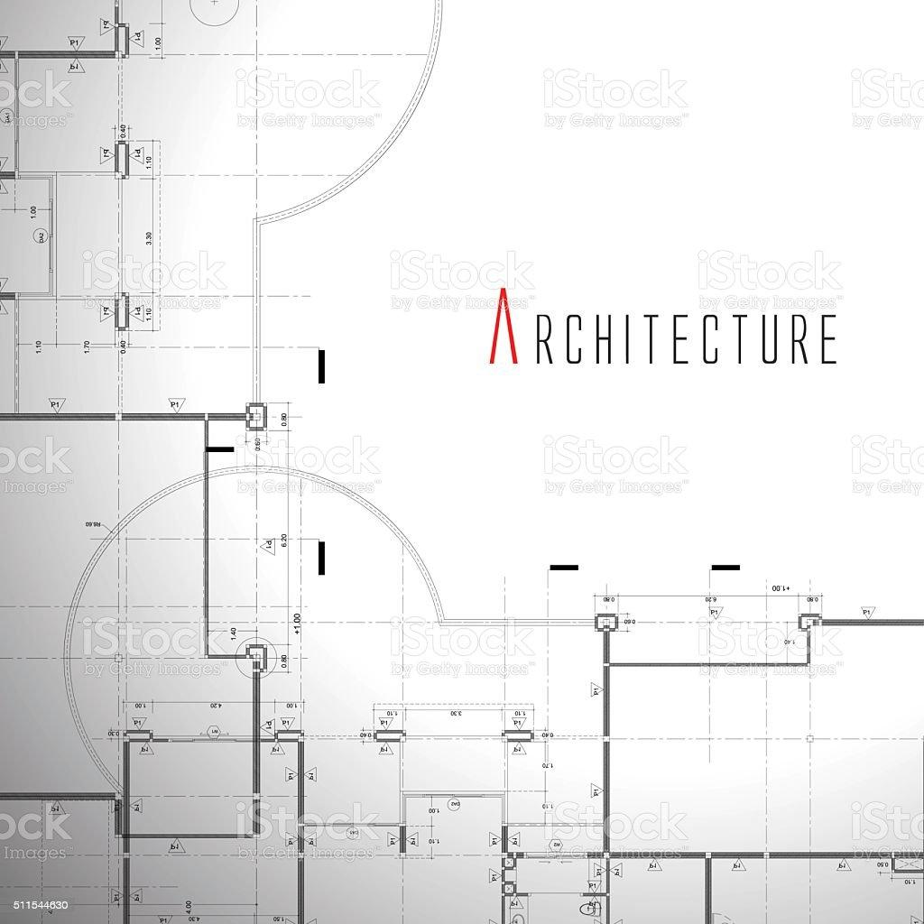 Ilustración vectorial de casa sobre fondo blanco. - ilustración de arte vectorial