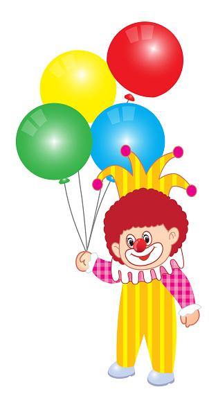Vectorillustratie Van Joker Clown Stockvectorkunst en meer beelden van Bontgekleurd
