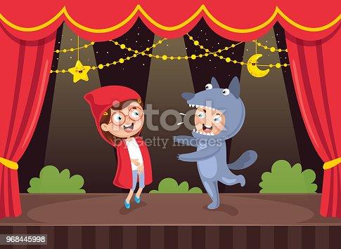 istock Vector Illustration Of Kids Art 968445998