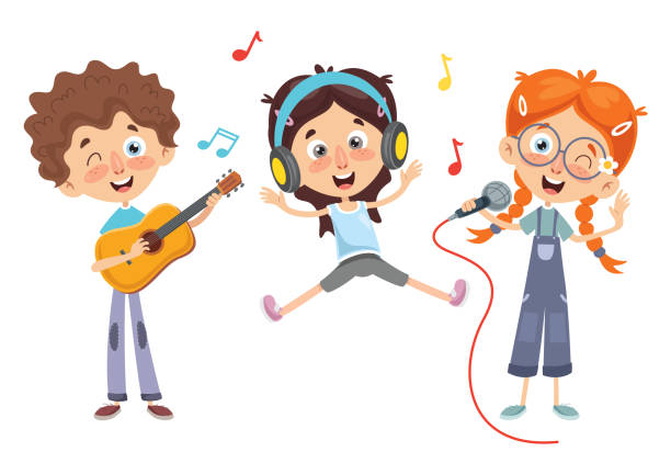 Best Kids Music Illustrations, Royalty-Free Vector Graphics & Clip