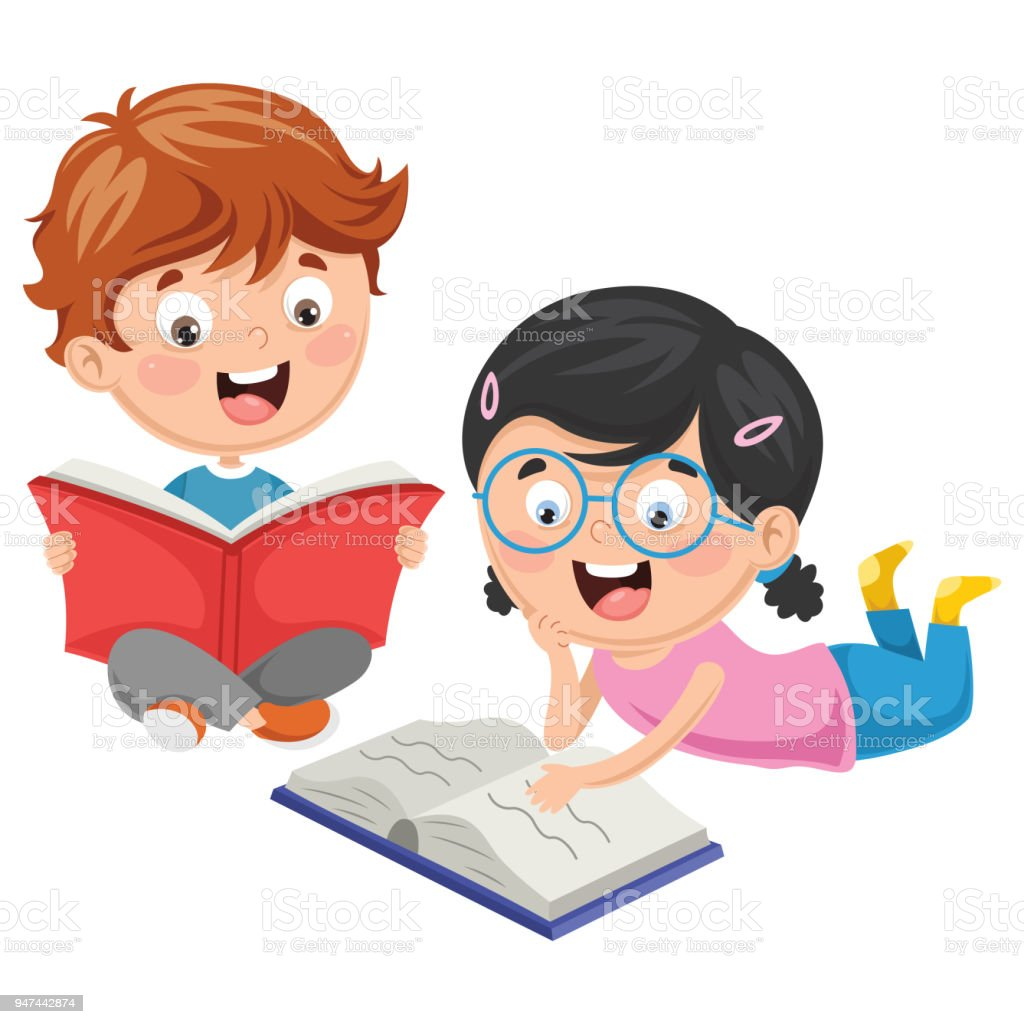 vector illustration of kids reading book stock illustration download image now istock vector illustration of kids reading book stock illustration download image now istock