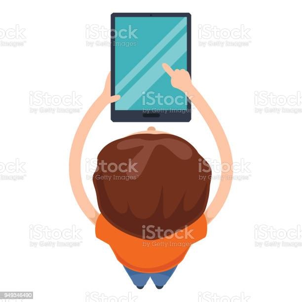 Vector illustration of kids technology vector id949346490?b=1&k=6&m=949346490&s=612x612&h=vkor egdzuz0 ml2gvspth6aktmmos9rivmebnawd9o=