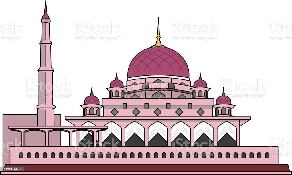 Vector illustration of  MalaysiaSymbols - Royalty-free Asia stock vector