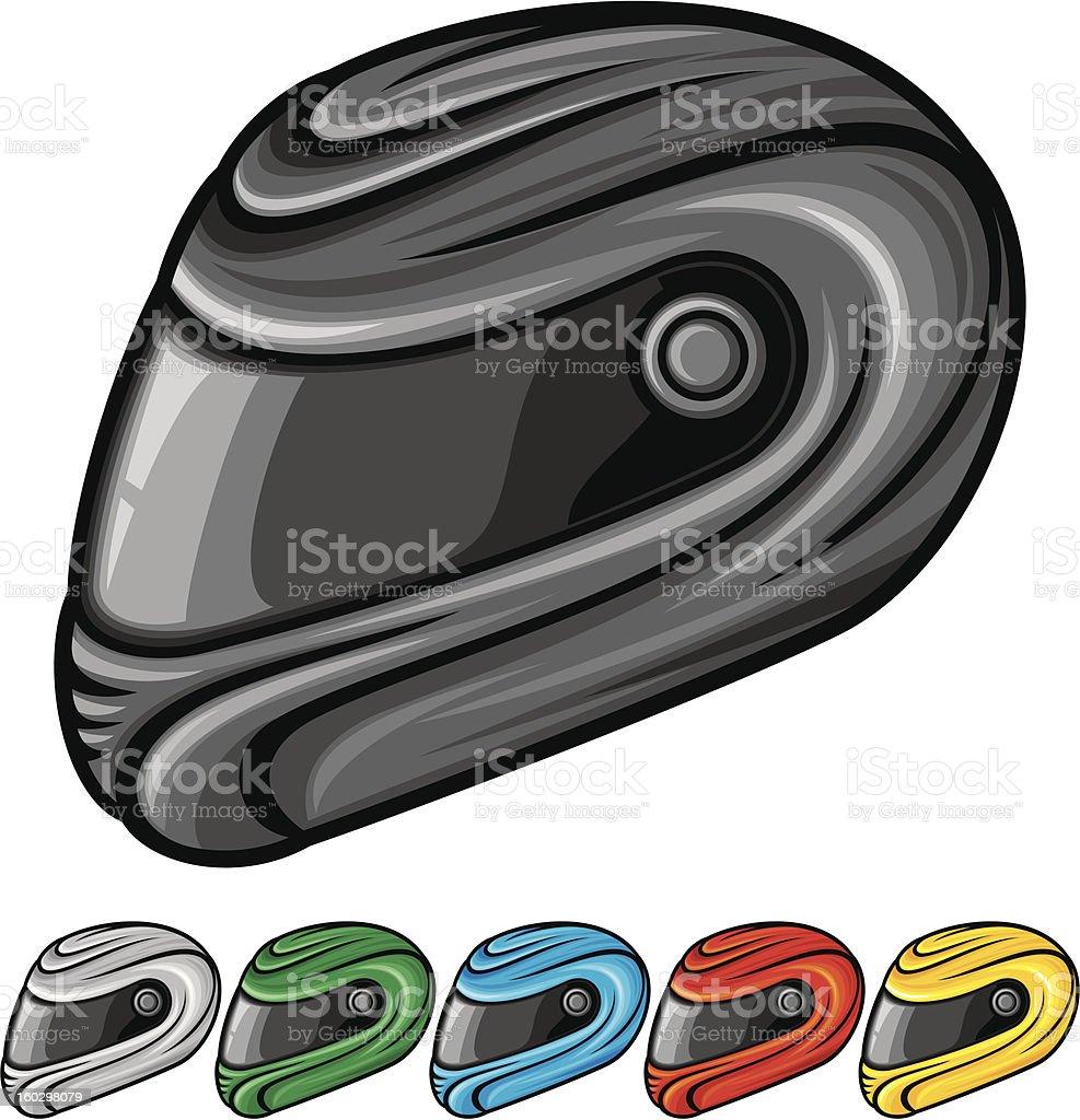 vector illustration of motorcycle helmet royalty-free vector illustration of motorcycle helmet stock vector art & more images of biker