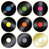 Music Vinyl Record - 45 RPM