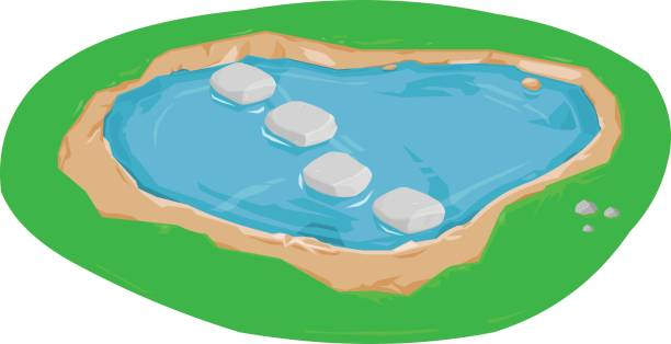 Stepping Stones Clip Art : Royalty free stepping stone clip art vector images