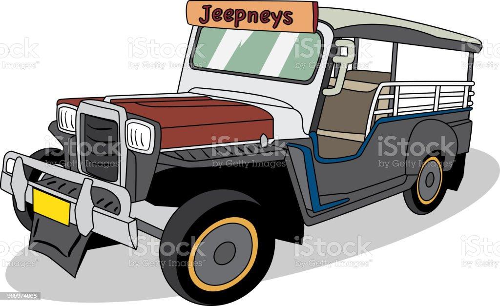 Vector illustration of  Philippines_Bus vector art illustration