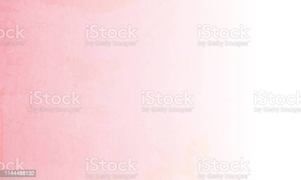 Vector Illustration Of Pink And White Empty Grungy Background - Immagini vettoriali stock e altre immagini di Antico - Condizione