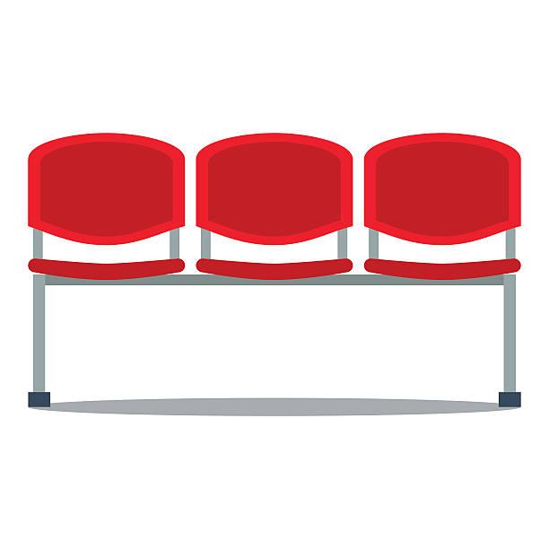 bildbanksillustrationer, clip art samt tecknat material och ikoner med vector illustration of plastic seat - sittplats