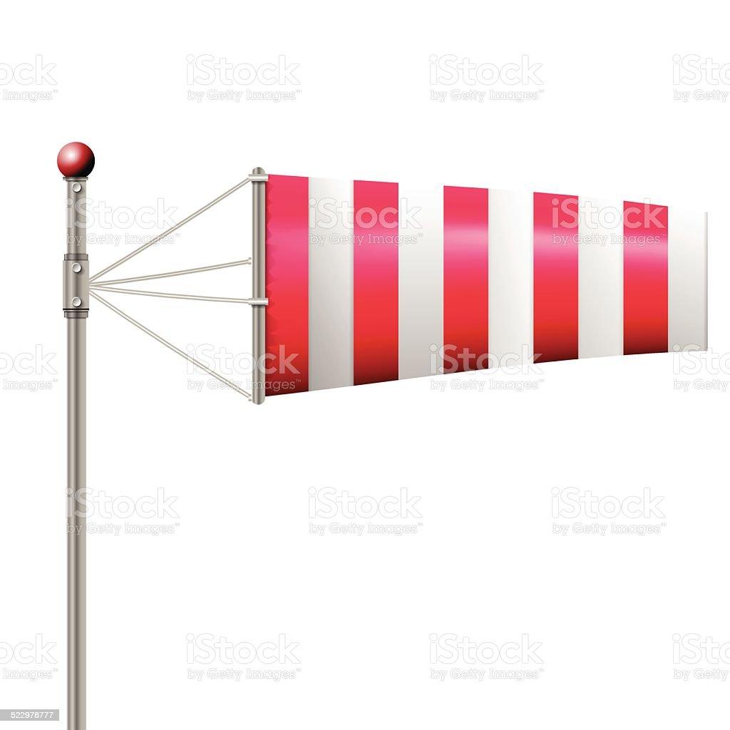 Ilustração em vetor de vermelho Biruta - ilustração de arte em vetor