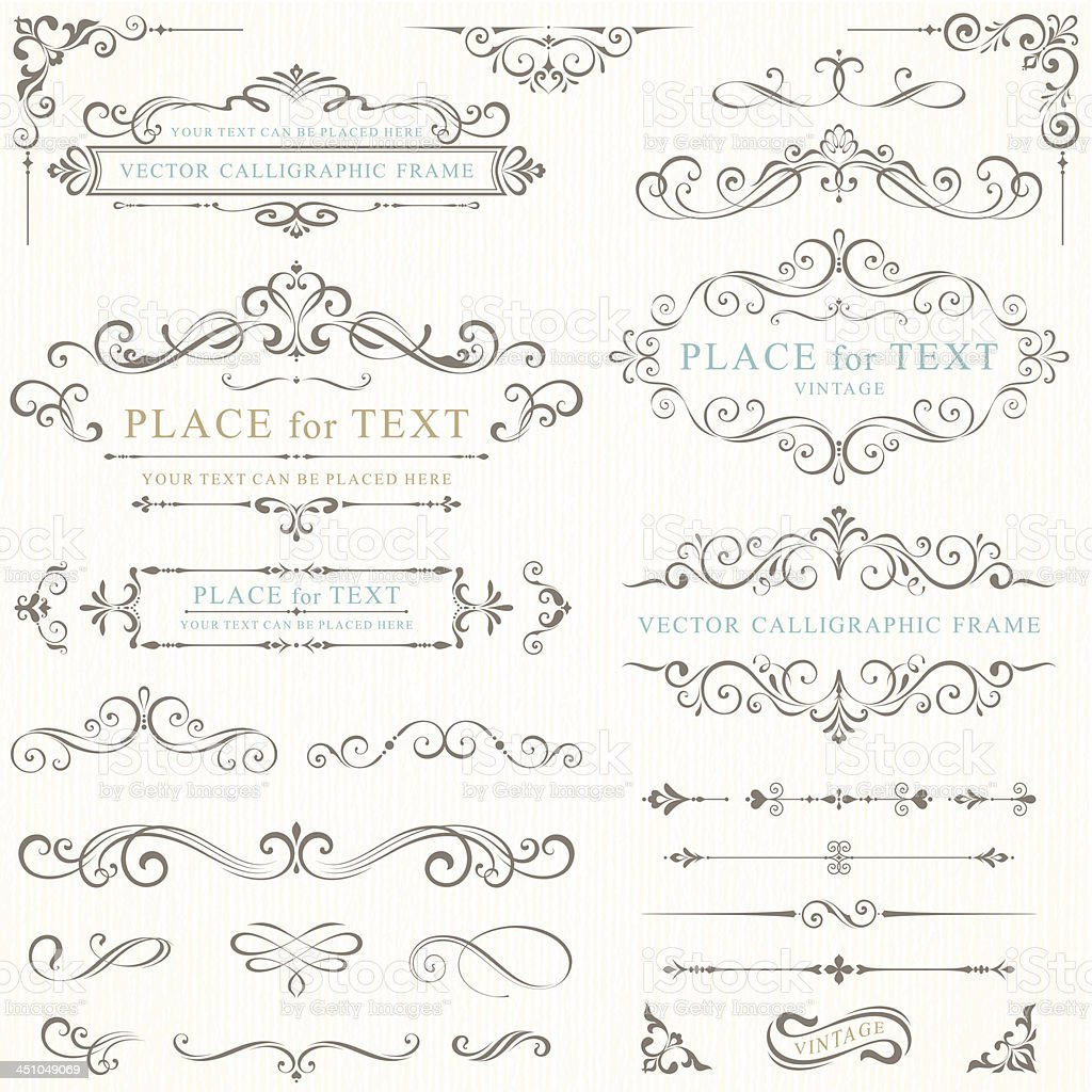 Vector illustration of retro frames royalty-free vector illustration of retro frames stock vector art & more images of backgrounds