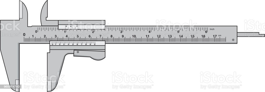 Vector illustration of  RulerMeasures - Royalty-free Design stock vector