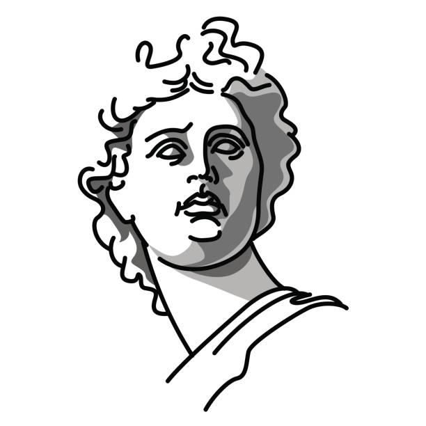 Illustration vectorielle de la sculpture - Illustration vectorielle