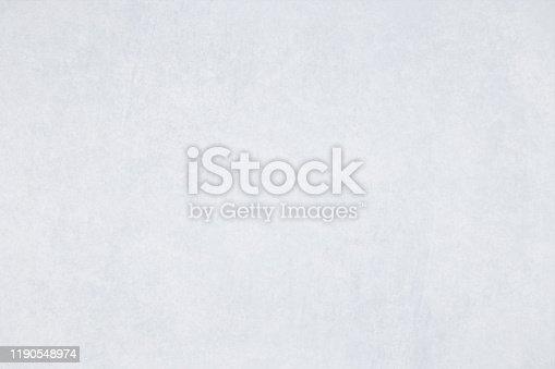 istock Vector Illustration of smoky Gray plain grungy gradient empty background 1190548974