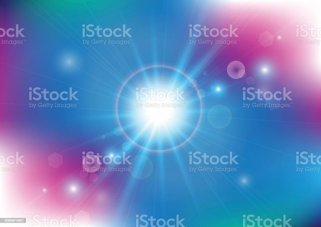Vector illustration of soft colored abstract background vector art illustration