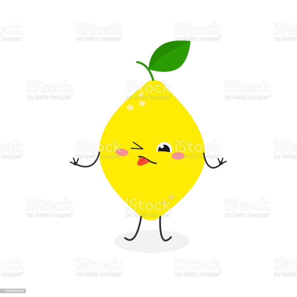 Ilustración de vector de limón agrio de la historieta ilustración de ilustración de vector de limón agrio de la historieta y más vectores libres de derechos de alegre libre de derechos