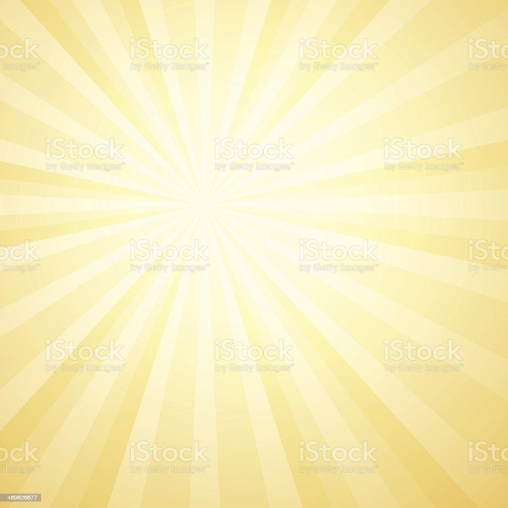 Vector illustration of sunburst background vector art illustration