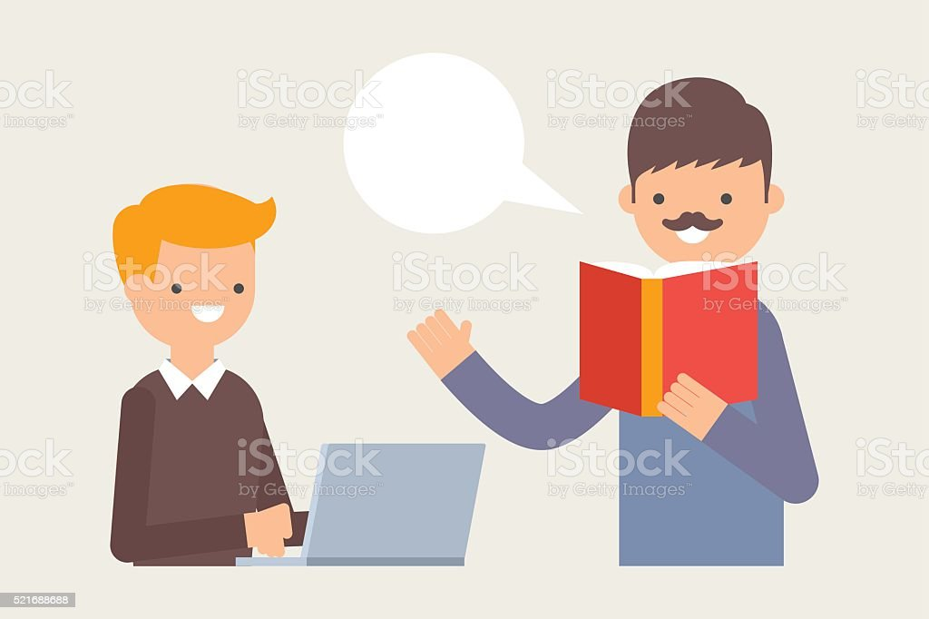 Image result for teacher and student vector