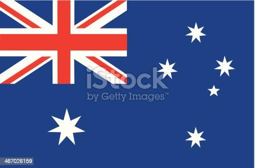 vector file of Australian flag