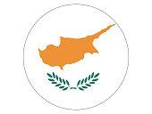 Circle Flag of Cyprus