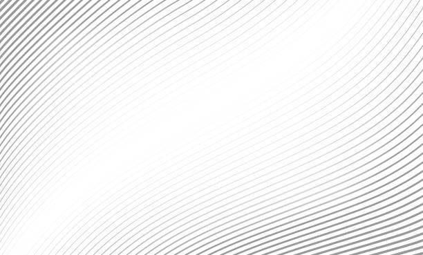 wektorowa ilustracja wzoru szarych linii abstrakcyjne tło. eps10. wzór szarych linii według narzędzia mieszania. - linia stock illustrations