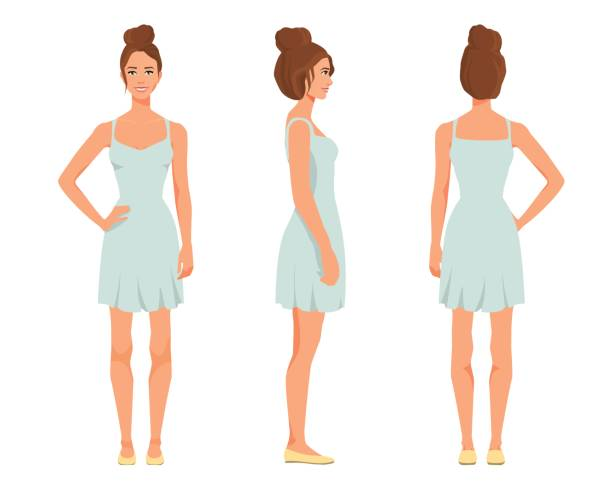 Royalty Free One Arm Dress Clip Art Vector Images Illustrations