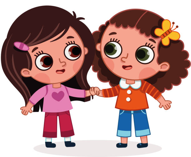 Best Bff Illustrations, Royalty-Free Vector Graphics
