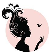 Vector illustration of woman