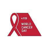 Vector illustration of World Cancer Day.