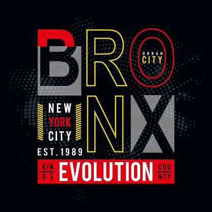 Vector illustration on the theme of New York City,Typography, t-shirt graphics, poster, print, banner, flyer, postcard - Vector.
