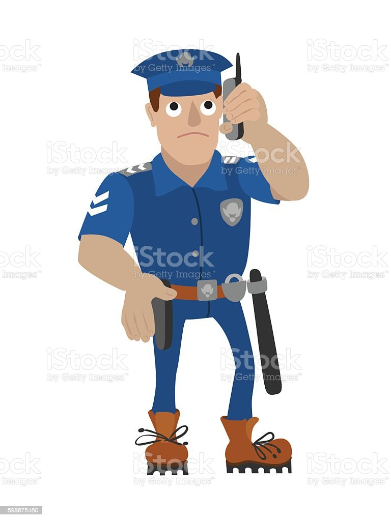 royalty free talking to police clip art vector images rh istockphoto com police clipart car police clipart