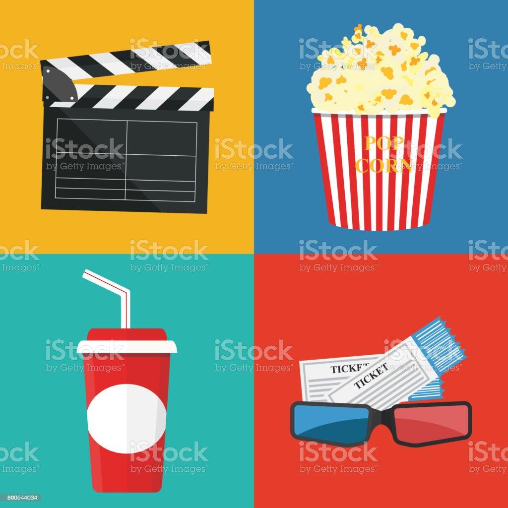 Movie Border: Clip Art, Page Border, and Vector Graphics | Clip art borders,  Border movie, Page borders