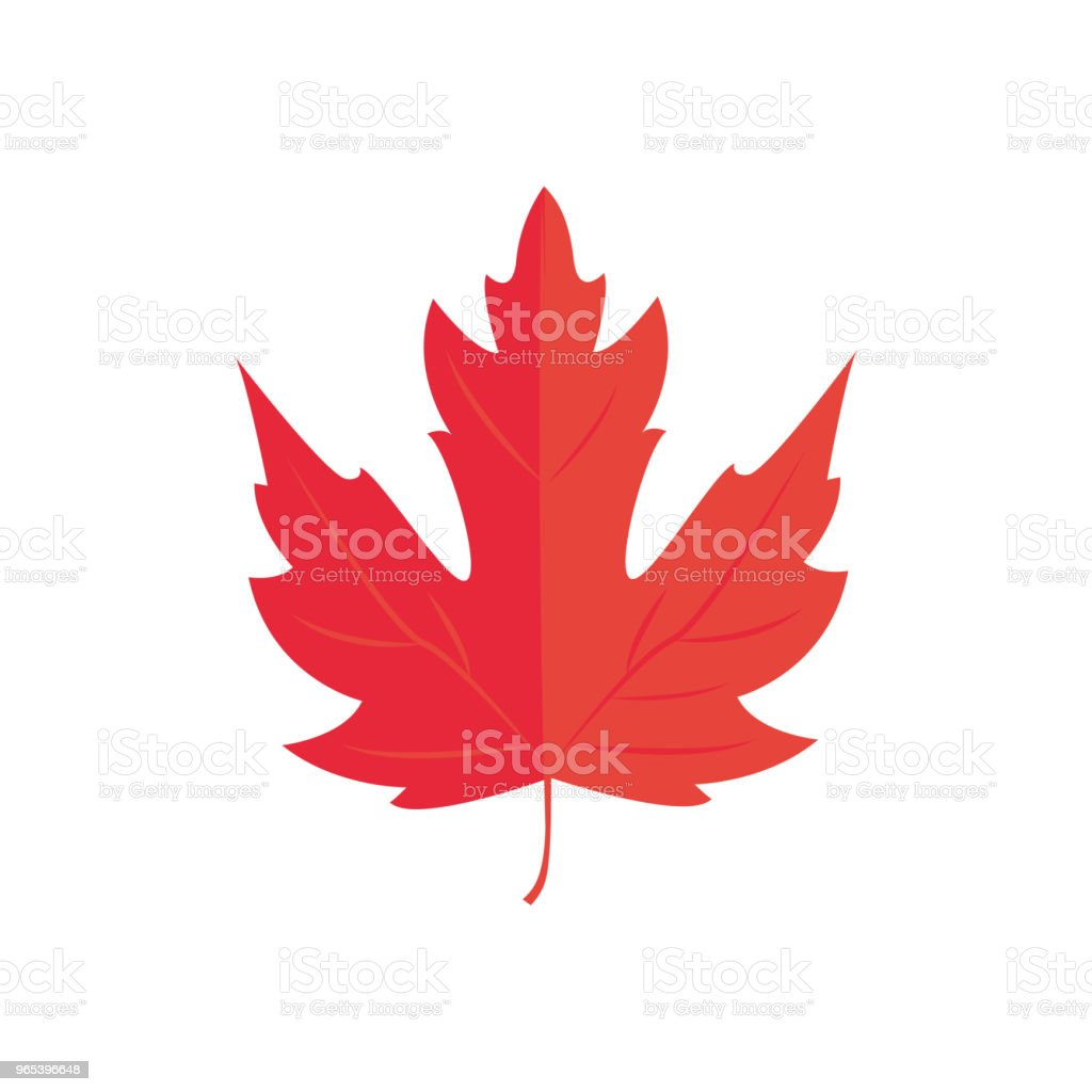 Vector Illustration. Red Maple leaf. Autumn icon leaf royalty-free vector illustration red maple leaf autumn icon leaf stock vector art & more images of abstract