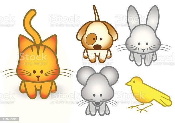 Vector illustration set of cartoon pet animals vector id118729816?b=1&k=6&m=118729816&s=612x612&h=znvuvjnfpgsld9x  46tzvqh9v lk8ig5v9743no 4w=
