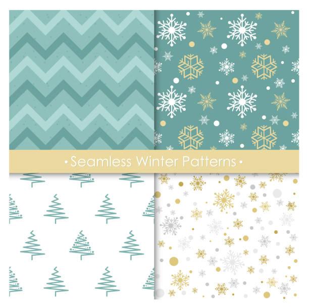 Vectores de Rojo Navidad Snowflakes Geométricas Textil Textura ...