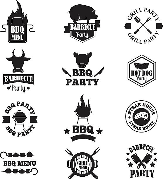 Best Smoker Grill Illustrations Royalty Free Vector