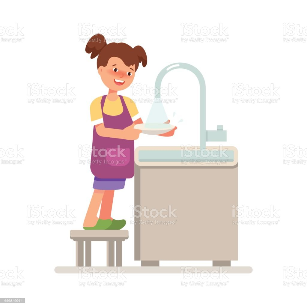 royalty free dirty dishes in sink clip art vector images rh istockphoto com dirty dishes in sink clipart dirty dishes in sink clipart