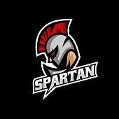 Vector Illustration Spartan E Sport and Sport Style.