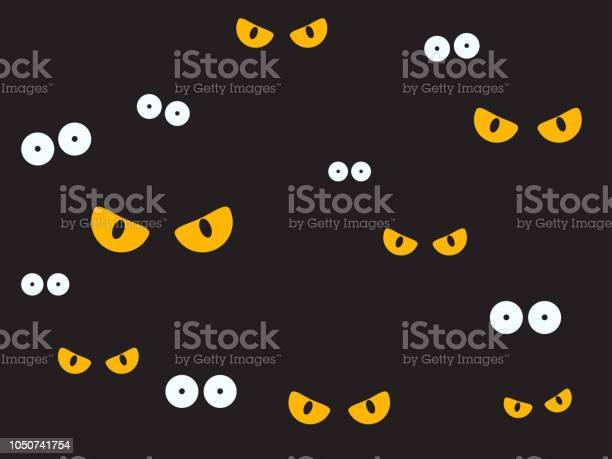 Vector illustration spooky eyes in the dark background halloween vector id1050741754?b=1&k=6&m=1050741754&s=612x612&h=wyob9mklkrvjz1ewhzyav8h2pnmvibjkgj4 o6eybem=