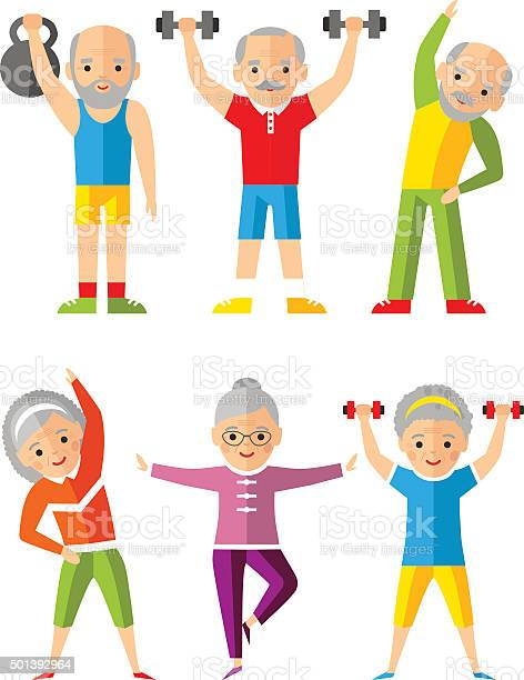 Vector illustration sport healthy and leisure old people activities vector id501392964?b=1&k=6&m=501392964&s=612x612&h=caffd1pu2ujmdfindxw3ror5lldlzt98xrenxi cobo=