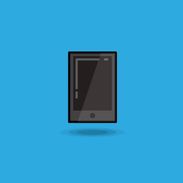 vector illustration tablet pc. illustration tablet ipad isolated - ipad stock illustrations
