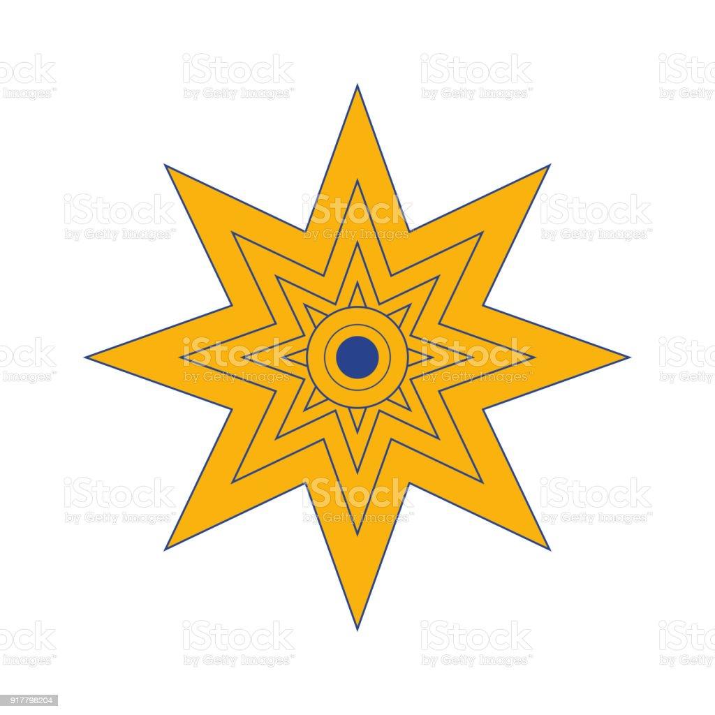 Star of venus symbol clipart library vector illustration the star of ishtar symbol of inanna also rh istockphoto com satanic symbols dictionary star of venus symbol meaning biocorpaavc Choice Image