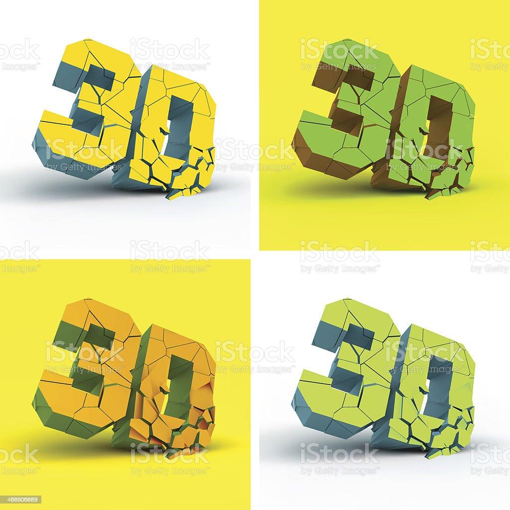3D. Vector illustration. royalty-free stock vector art