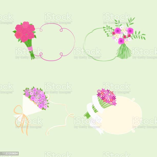 Vector illustration with bouquet of flowers and frames for text vector id1132059694?b=1&k=6&m=1132059694&s=612x612&h=i1kr3xq1pclpblqouwtipzycqzabmyoci6upmi6aoem=