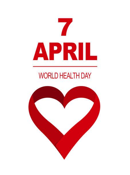 vector illustration world health day card 7 april vector art illustration