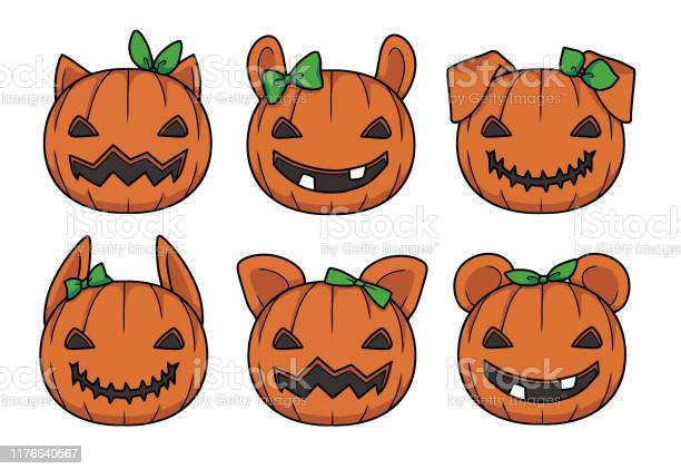 Vector illustrations of cute orange cartoon style carved halloween vector id1176640567?b=1&k=6&m=1176640567&s=612x612&h=ovojtwfhhcmmivr ctqqvprj50vsjtj3 lychiajvfa=