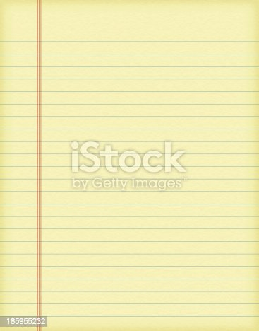 istock Vector illustrations of lined paper with texture 165955232